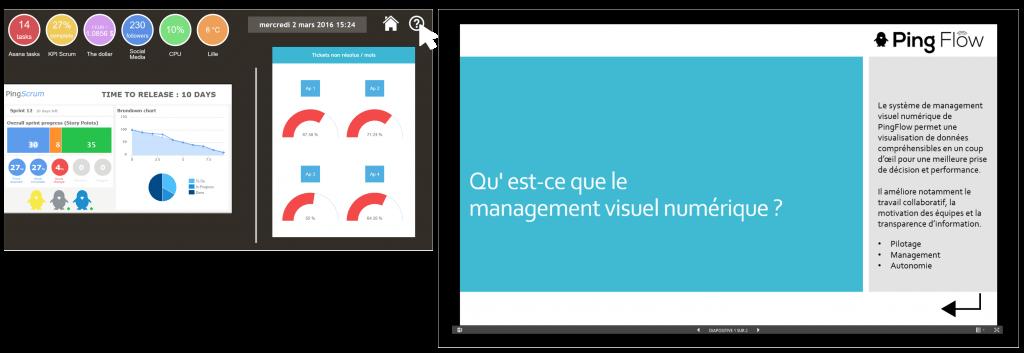 PowerPoint intégré dans PingFlow