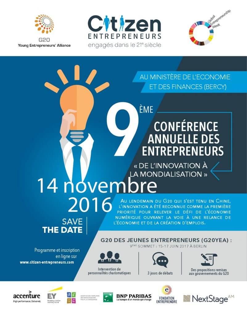 9ème conférence annuelle des entrepreneurs avec Citizen Entrepreneurs