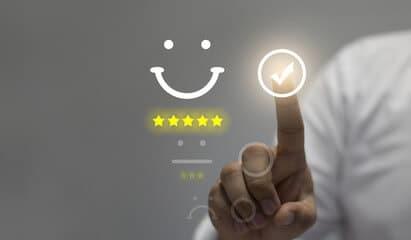 digitalisation ecran service client